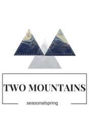 Two Mountains by seasonalspring