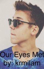 Our eyes met by krmilam