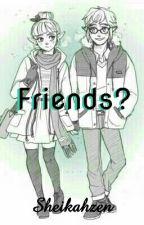 Friends; Zelink, Modern (The Legend Of Zelda)  by Sheikahzen