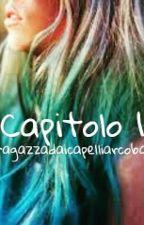 la ragazza dai capelli arcobaleno by mimmyfiorucci