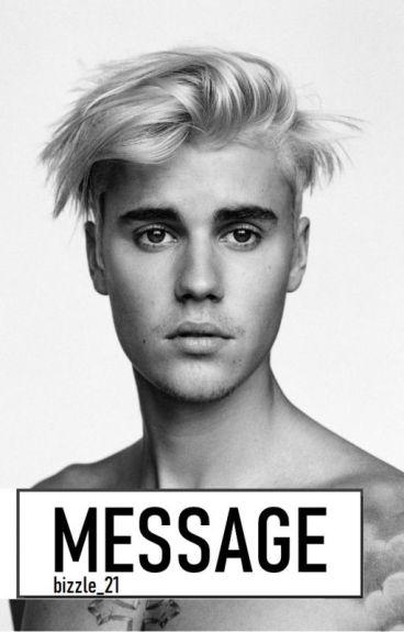"""Message """"Justin Bieber"""""""