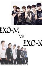 Exo-M Vs Exo-K by NaLi177