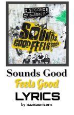 Sounds Good Feels Good Lyrics by nazisaunicorn
