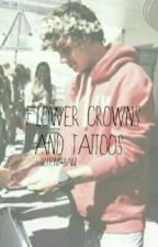 Flower Crowns & Tattoos by bottom-liam