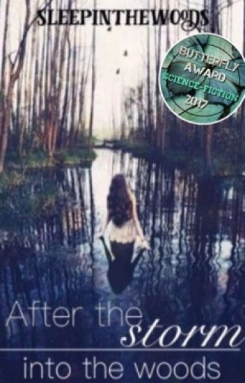 After the storm - into the woods