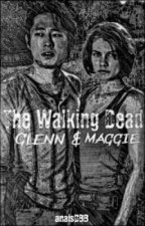 The Walking Dead : Glenn & Maggie by AnaisDBB