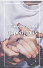 ripped jeans | hes by pradaharryy