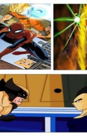 Dragon Ball WC:Avengers, Justice League, Z-Fighters