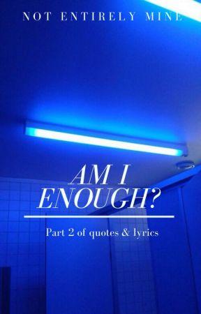 Suicidal thoughts/Lyrics/Quotes /Fangirl 2 !! - 36 - Wattpad