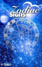 Zodiac Signs by -Renaa-