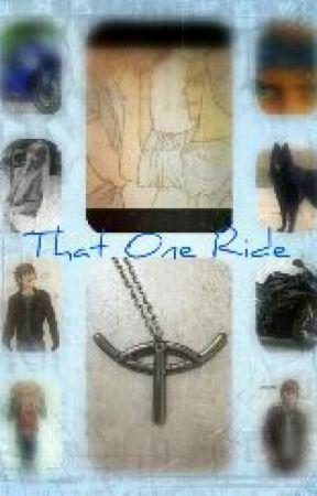 That One Ride by izzyhaddock