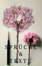 Sprüche & Texte by storysforourlifex