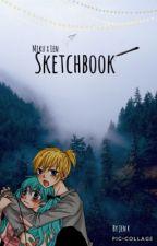 MikuXlen Sketchbook by Elves_Coffee