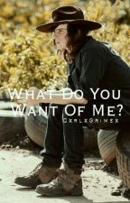 What do you want of me? | Carl Grimes | by CxrlxGrimex