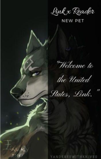 Wolf! Link X Reader: New Pet