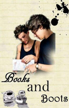 Books and Boots||Larry Stylinson|| by wontstoptosurrender_
