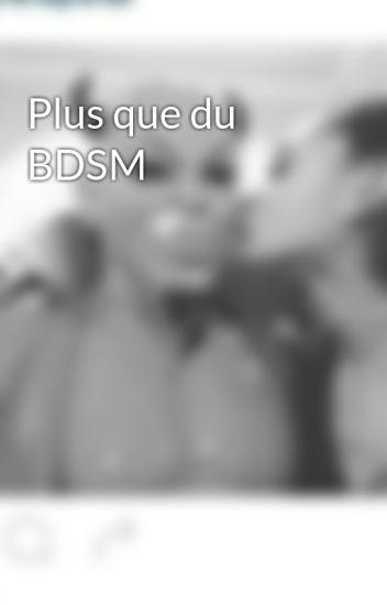 Plus que du BDSM