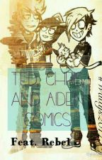 Ted,Chris and Aiden Comics by DeathTakesUSAll