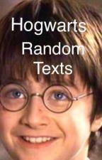 Hogwarts random texts by conversebootz