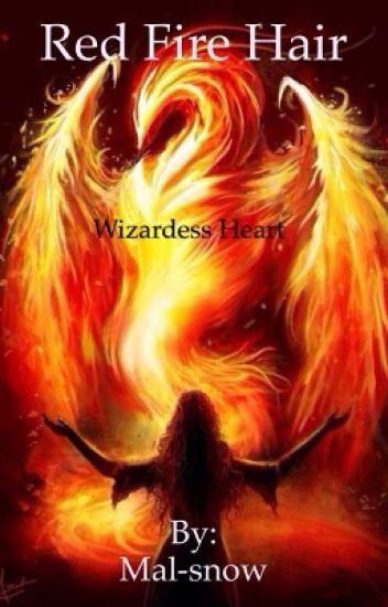 Red fire hair (wizardess heart)
