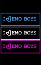 Emo Boys x Reader by _useyourillision_