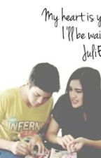 """""""My Heart is yours I'll be waiting JuliElmo"""" by FinaMags"""