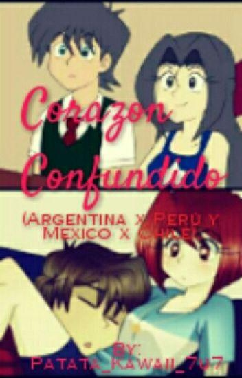 Corazón Confundido Argentina X Perú Y Chile México