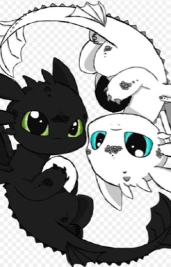 Full of hate, Till I met you ((Toothless x Dragon!Reader