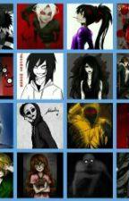 CreepyPasta Friends by FoxyFrozenLover678