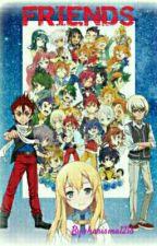Friends (A Crossfire B-daman Fanfic) by MitsukiAoki