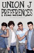 Union J Preferences by missfarahx