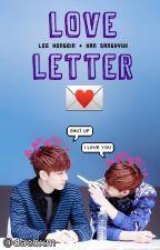 Love Letter 《HyukBin》 by daebxm