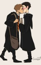 Halloween in Hogwarts (A SPN Destiel AU) by sammysclown
