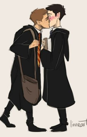 Halloween in Hogwarts (A SPN Destiel AU) by sammysclown