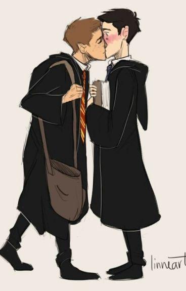 Halloween in Hogwarts (A SPN Destiel AU)