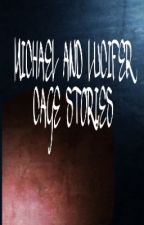 Lucifer and Michael - Cage Stories by rockingtohell