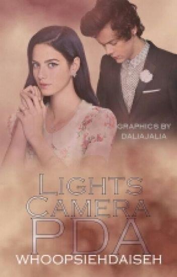 Lights. Camera. PDA. (HS // au)