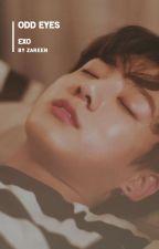 odd eye → baekhyun by -kaizar