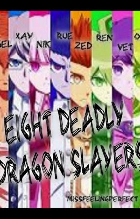 Eight Deadly Dragon Slayers by missfeelingperfect