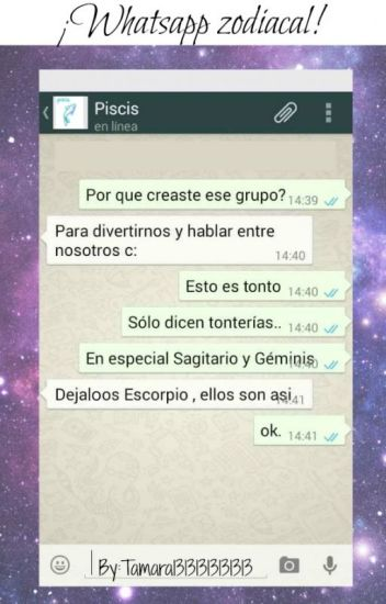 ¡Whatsapp zodiacal!