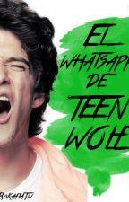 El WhatsApp de Teen Wolf.  by Kafiatw