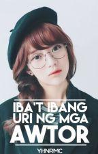 Iba't Ibang Uri Ng Mga Awtor by yhnrMC