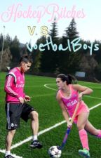 HockeyBitches V.S VoetbalBoys by xminoudegroot