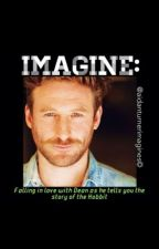 IMAGINE: Falling in love with Dean while he tells you the story of the Hobbit by Aidanturnerimagines
