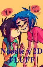 Noodle x 2D FLUFF (2Nu) by skelekitty