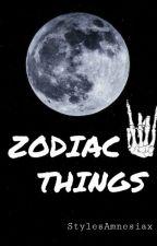 Zodiac things by StylesAmnesiax