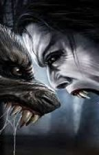 vamp vs werewolf by greatinspiration