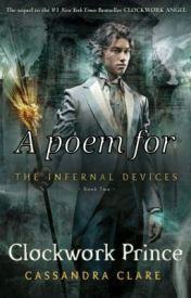[Poem] About CLOCKWORK PRINCE by Cassandra Clare by PJackbooklover