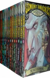 A Series of Unfortunate Events Complete Childrens Collection by Lemony Snicket by SnazalLeicester