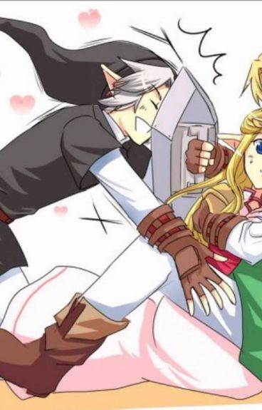 Amor entre 3 (Dark Link, Link y tú) (HOT)